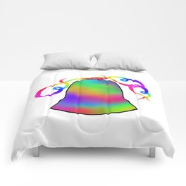 Bell Rainbow & Ribbons Comforters