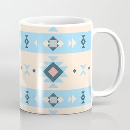 Pastel colors tribal geometric pattern Coffee Mug