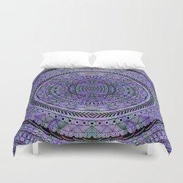 Zentangle Mandala Duvet Cover