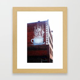 Knoxville Coffeehouse Framed Art Print