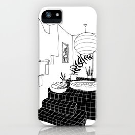 interior pool jacuzzi iPhone Case