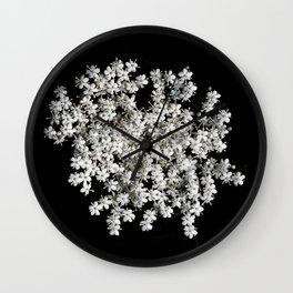 Elderflower Wall Clock