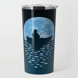 Hooked by Moonlight Travel Mug