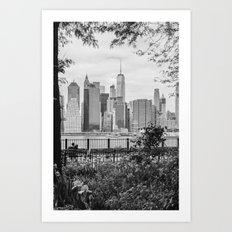 New York Lovers II Art Print