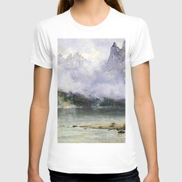 Alaska Scene Near Juneau 1894 By Thomas Hill | Reproduction T-shirt