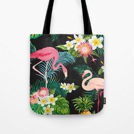 Flamingo Dance Tote Bag