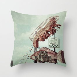 Seafood Throw Pillow