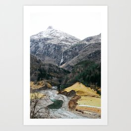 Oslo ⇒ Flåm Art Print