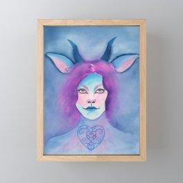 Satyress Framed Mini Art Print