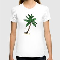 palm tree T-shirts featuring palm tree by Li-Bro