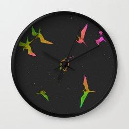 The magnificent frigatebirds *N* by #Bizzartino Wall Clock