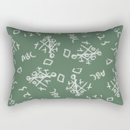 Kid Print Rectangular Pillow