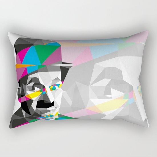 Color Charlie Rectangular Pillow