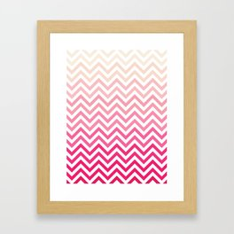 Chevron 23 Framed Art Print