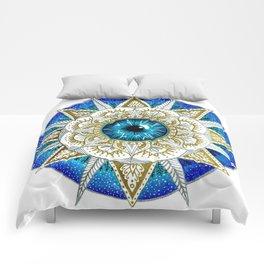 Eye Mandala Comforters