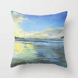Sunset at Smugglers Cove 2017 Throw Pillow