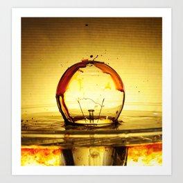 Bulb Fiction Art Print