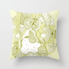 and that's how babies are made Throw Pillow