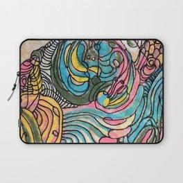 Clamshell Seaweed Laptop Sleeve