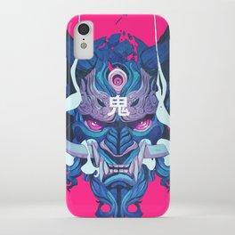 Oni Mask 01 iPhone Case