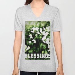 Blessings Unisex V-Neck