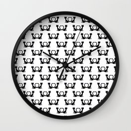 Kitty Lovin Wall Clock
