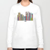 tokyo Long Sleeve T-shirts featuring Tokyo by bri.buckley