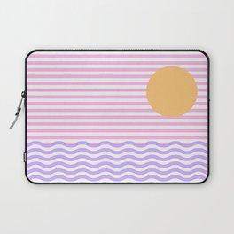 Coastline (Sunset Pink) Laptop Sleeve