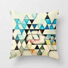 Geometric W1 Throw Pillow