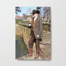 Gary D. Courtney - Author, Photographer, Outdoor Adventurer & Historian Metal Print