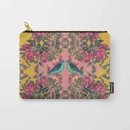 Love Birds II (yellow version) Carry-All Pouch