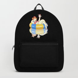 Summer Pool Party Backpack