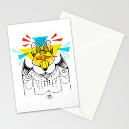 Attack on The Crown Stationery Cards