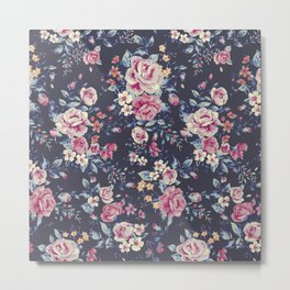 Floral Pattern 5.2 Metal Print