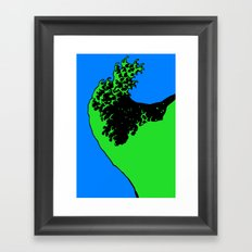 wave rider no.2 Framed Art Print