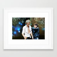 niall horan Framed Art Prints featuring Niall Horan by Adrian Tabraue