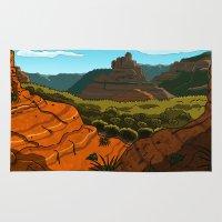arizona Area & Throw Rugs featuring Arizona by AbigailC