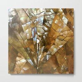 Traditional Hawaiian Mosaic Tile Designs Metal Print