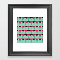 Chocolate Trees Framed Art Print