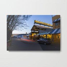 Granville Island Market Metal Print