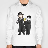wwe Hoodies featuring Chibi WWE - Undertaker and Paul Bearer 1 by Furiarossa
