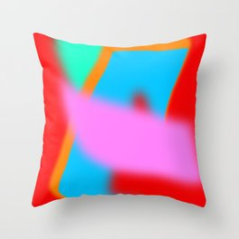Digital landscape 1 Throw Pillow