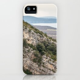 French lake view iPhone Case