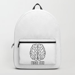 Use the brain Backpack