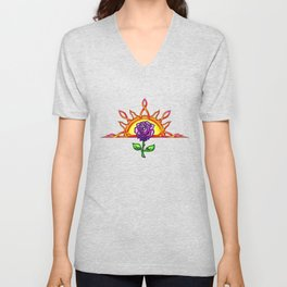 Royal Tudor's Sunrise Unisex V-Neck