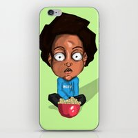 nerd iPhone & iPod Skins featuring NERD by Miles Cameron