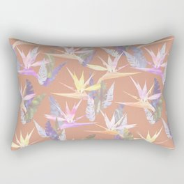 Birdie Tropical Blush Rectangular Pillow
