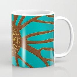 Vegvisir - Viking  Navigation Compass Coffee Mug