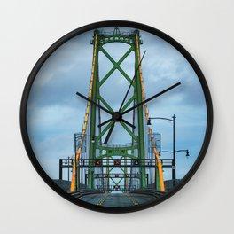 MacDonald Bridge Wall Clock
