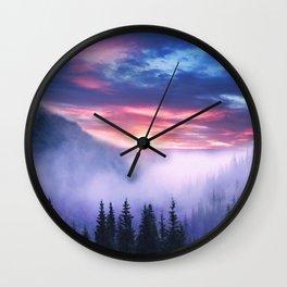 Pastel vibes 07 Wall Clock
